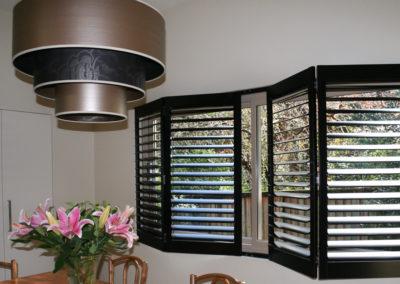 Hardwood Shutter Bi-Fold - Dining Room