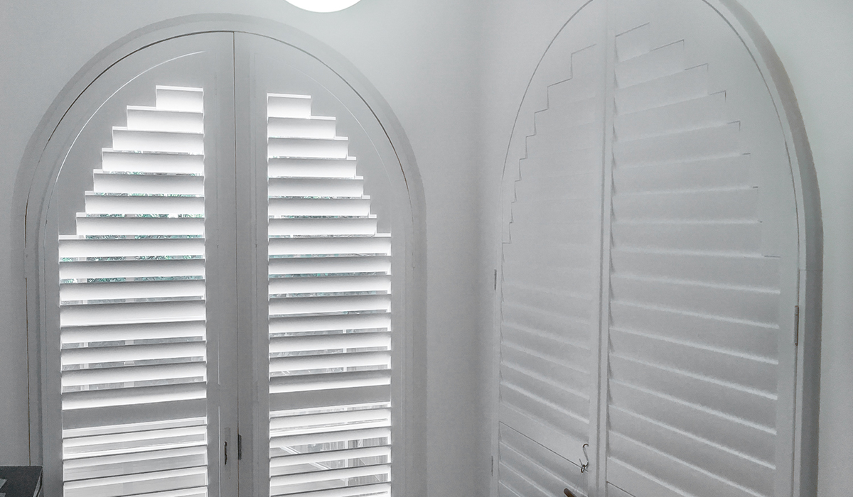 Hardwood Shutters - Arch - Vaucluse 2