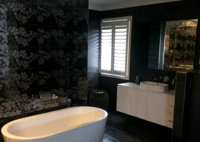 Hardwood Shutters Hinged - Bathroom 5
