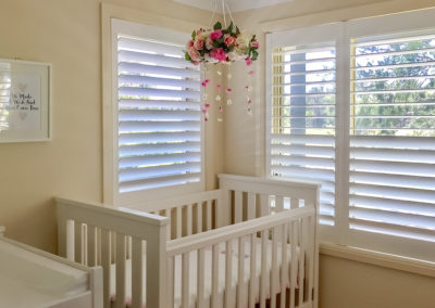 Hardwood Shutters Hinged - Nursery 1