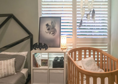 Hardwood Shutters Hinged - Nursery 3