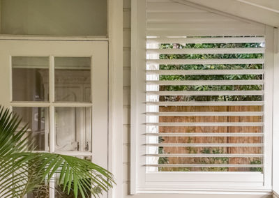 Aluminium Shutter with Triangular Top-2 - Balgowlah
