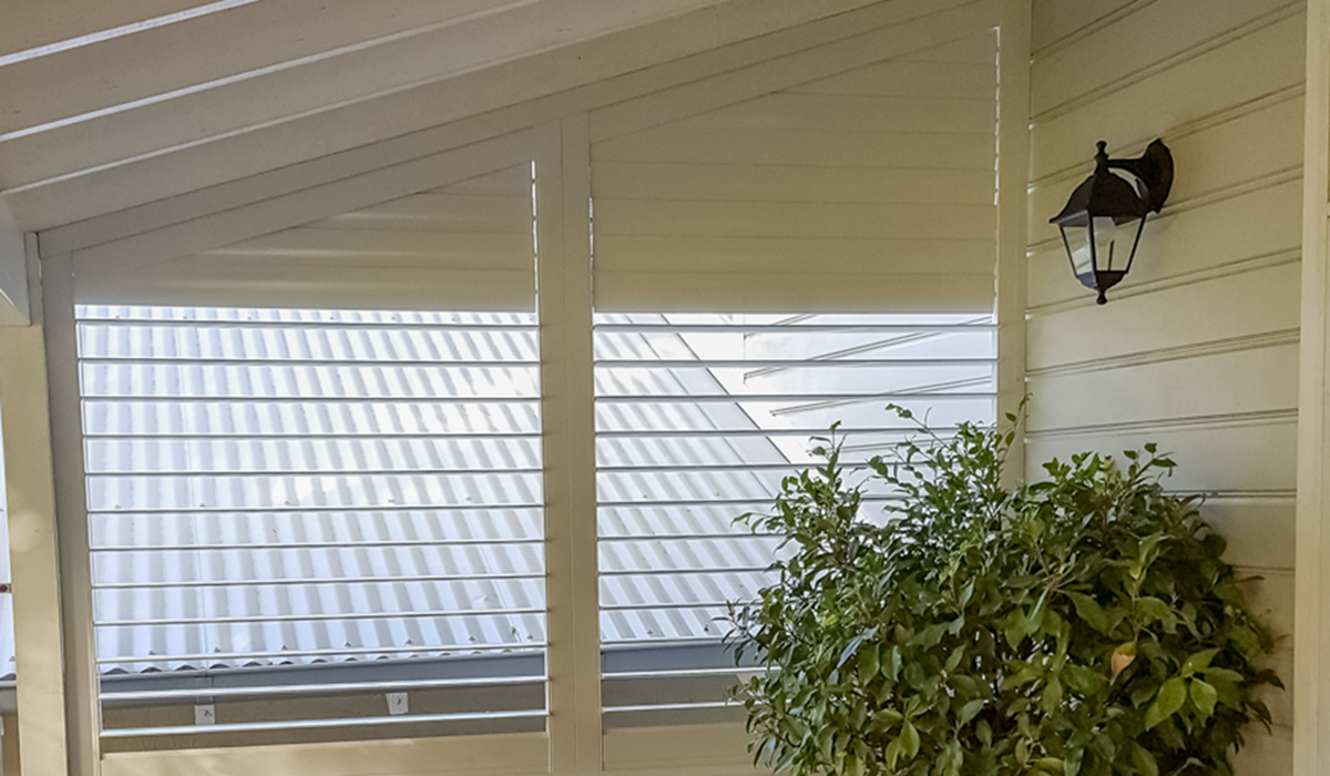 Aluminium Shutter with Triangular Top - Balgowlah