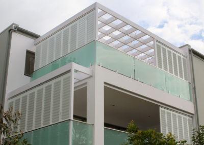 Aluminium Shutters - Bi-Fold Balcony