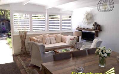 Create an extra living space with Aluminium Shutters