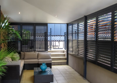 Aluminium Shutters Fixed in Place - Blace - Davidson
