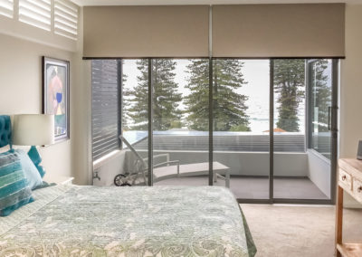 Blockout-Roller-Blinds-and-Shutters-Bedroom-Sliding-Doors