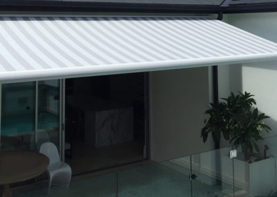 Folding-Arm-Awning-with-Full-Cassette---Stripe-1