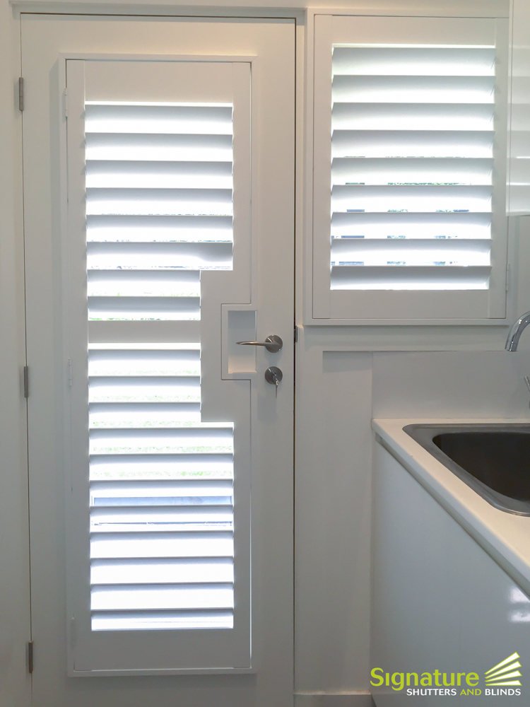 Entry Doors With Glass Panels Are A Great Idea For Areas Such As Laundries  As They Allow Light In And Brighten The Room. The Extra Light Makes The  Laundry ...