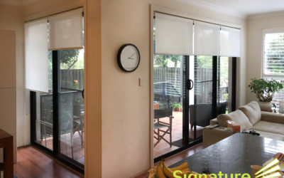 Roller Blinds, the ideal choice for doorways