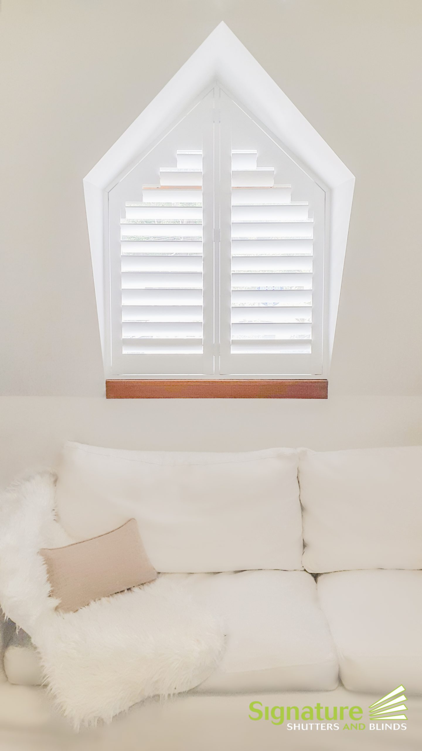 Shaped Shutters in North Sydney