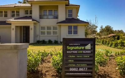 Signature Shutters Signage